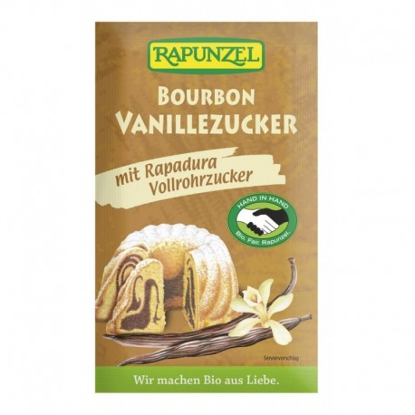 Zahar Vanilat Bourbon - Eco 8g Rapunzel