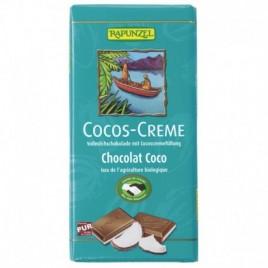 Ciocolata Crema Cocos - Eco 100g Rapunzel