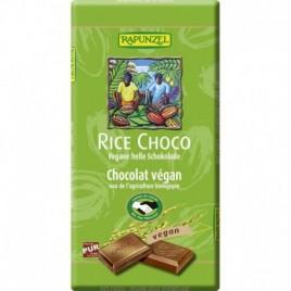 Ciocolata Vegana Lapte Orez - Eco 100g Rapunzel