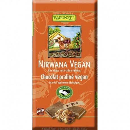 Ciocolata Nirwana Vegana - Eco 100g Rapunzel