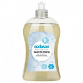 Detergent Lichid Vase Sensitive 500ml Sodasan