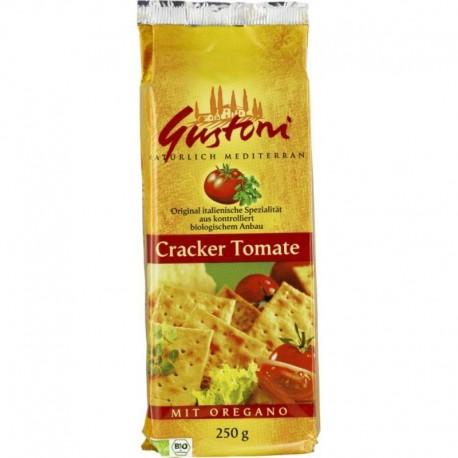 Biscuiti Crocanti Tomate Oregano - Eco 250g Gustoni