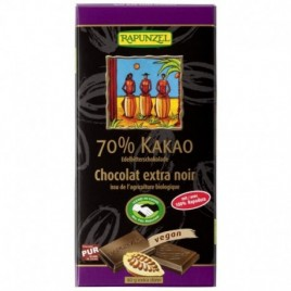 Ciocolata amaruie bio 70% cacao 80g Rapunzel