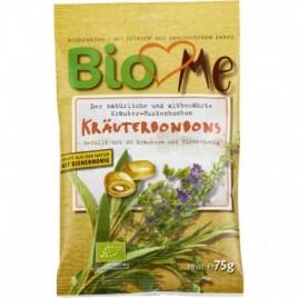 Bomboane cu Plante si Miere Bio 75g Bio Loves Me