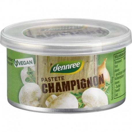 Pate Vegetal cu Ciuperci Champignon Bio 125g Dennree
