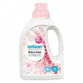 Detergent Lichid pentru Lana si Rufe Delicate 750ml Sodasan