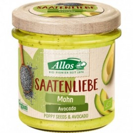 Crema Vegetala Tartinabila din seminte de Mac si Avocado Bio 140g Allos