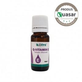 Q-Vitamin E solutie uleioasa 10ml Kotys