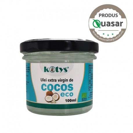Ulei extravirgin de Cocos Eco 100ml Kotys