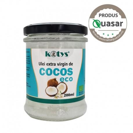 Ulei extravirgin de Cocos Eco 200ml Kotys