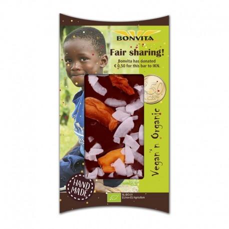 Ciocolata Fair Sharing Bio 85g Bonvita