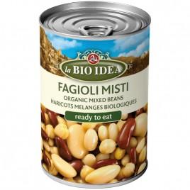 Mix de Fasole in Suc Propriu 400g La Bio Idea