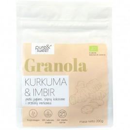 Musli Granola cu Turmeric si Ghimbir Bio 200g Pure Sweet