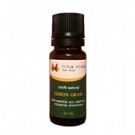 Ulei Esential de Lemongrass pentru Uz Intern 10ml Tonik Pharm