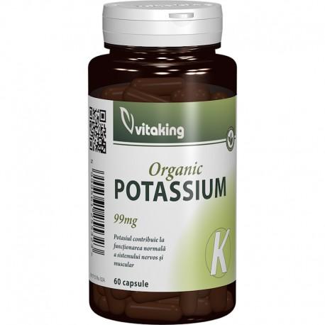 Organic Potassium 99mg 60cps Vitaking