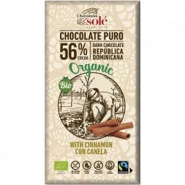 Ciocolata Neagra cu Scortisoara - Eco 100g Chocolates Sole
