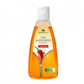 Ulei Anticelulita Ardei Iute 200ml Cosmetic Plant