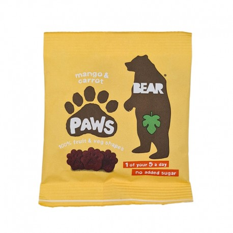 Jeleuri cu Mango si Morcovi - Talpite Bear Paws 20g Bear