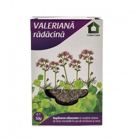 Ceai de Valeriana 50g Ceaiul Casei