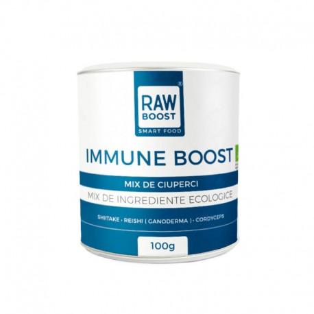Immune Boost – Mix de Ciuperci Bio 100g Rawboost