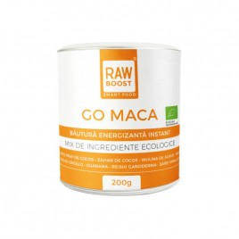 Bautura Energizanta Instant Go Maca Mix Bio 200g Rawboost