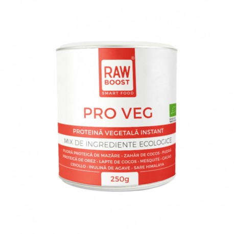 Pro Veg – Proteina Vegetala Instant Mix Bio 250g Rawboost