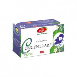 Ceai pentru Concentrare N163 20dz Fares