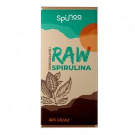 Ciocolata Raw cu Spirulina Canepa Dude si Lucuma 35g Spinoa