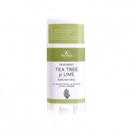 Deodorant Stick cu Tea Tree si Lime 60g Trio Verde