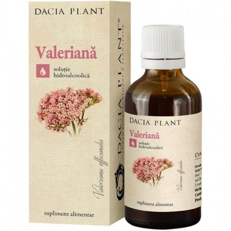 Extract Hidroalcoolic Valeriana 50ml Dacia Plant