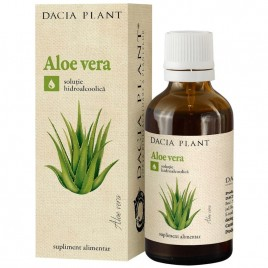 Extract Hidroalcoolic Aloe Vera 50ml Dacia Plant