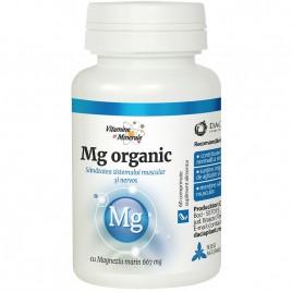 Magneziu Organic 60cmp Dacia Plant
