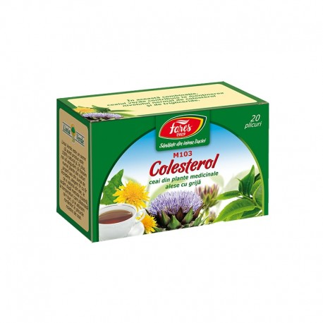 Ceai Colesterol 20dz Fares