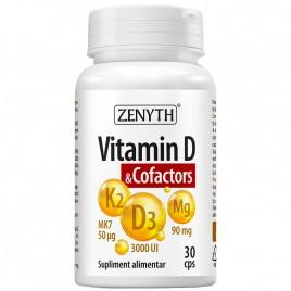 Vitamin D - Cofactors 30cps Zenyth Pharmaceuticals