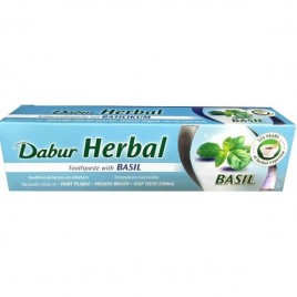 Pasta Dinti Busuioc - 100ml Dabur Herbal