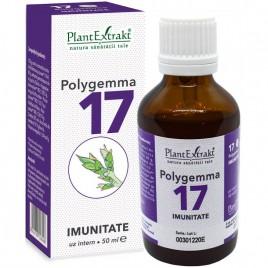 Polygemma Nr.17 Imunitate 50ml Plantextrakt