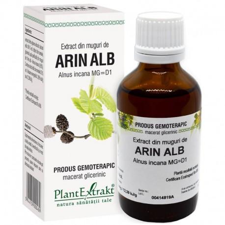 Extract Gemoterapeutic Arin Alb Mug.50ml Plant Ext