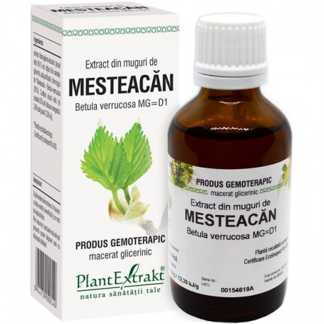 Extract Gemoterapeutic Mesteacan Mug.50ml Plantext