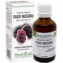Extract Gemoterapeutic Dud Negru Mug.50ml Plantext