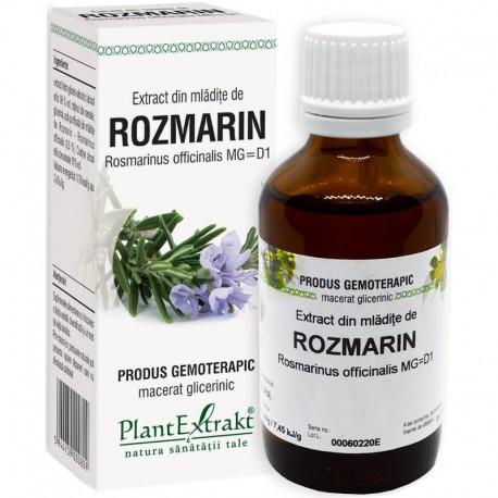 Extract Gemoterapeutic Rozmarin Mladite 50ml Plantextrakt