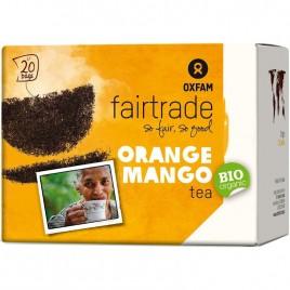 Ceai Negru cu Portocale si Mango Bio 20dz Oxfam