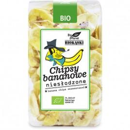 Chipsuri de Banane Neindulcite Bio 150g Bio Planet