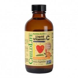 Vitamin C Liquid 250mg pentru Copii 118ml ChildLife Essentials