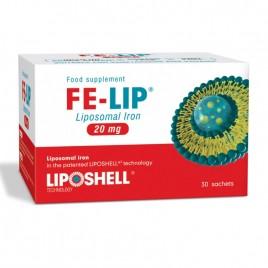 Fier Lipozomal FE-LIP 20mg, 30 plicuri Liposhell
