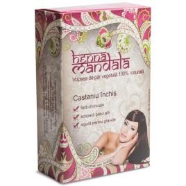 Pudra Henna Castaniu Inchis 100g Henna