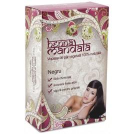 Pudra Henna Negru 100g Henna Mandala