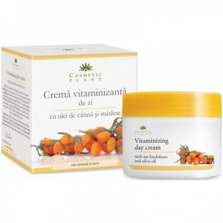 Crema Vitaminizanta De Zi Cu Ulei De Catina Masline - 50ml Cosmetic Plant