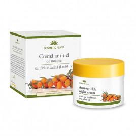 Crema Antirid Noapte Catina Masline - 50ml Cosmetic Plant