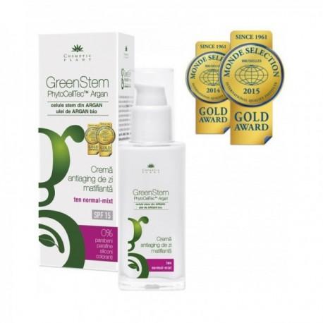 Crema Antirid Matifianta Cu Celule Stem Din Argan 50ml Cosmetic Plant