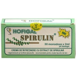Crema Spirulin 30dzx2ml Hofigal